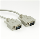 Serial cable DB9 male to DB9 male, 2m, e.g. for RS232