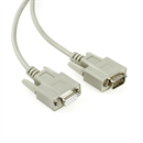 Serial cable DB9 male to DB9 female, 2m, e.g. for RS232